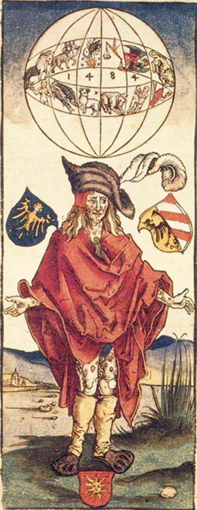 Dürer'in Frengili Adamı