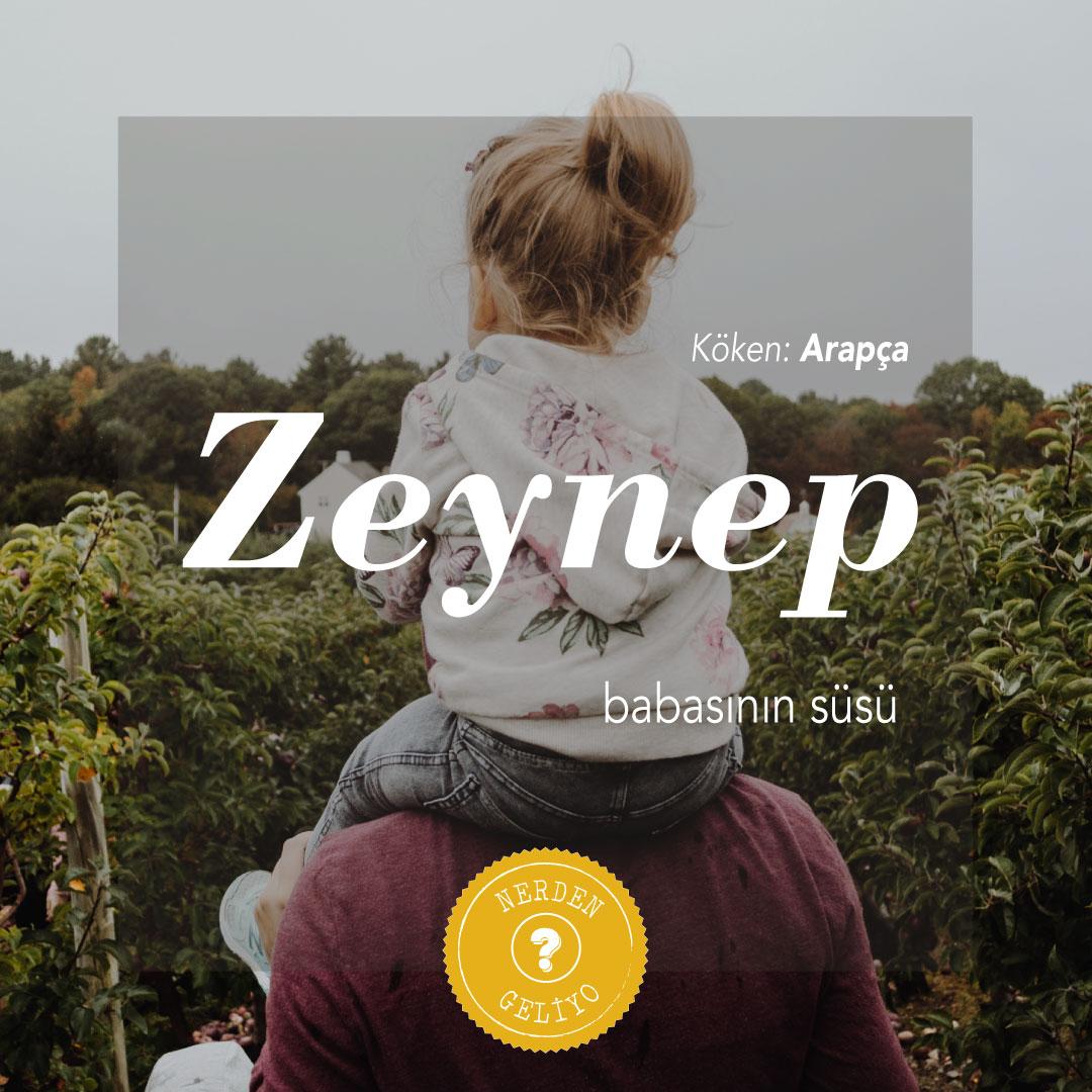 """""""Zeynep"""" Nerden Geliyo"""