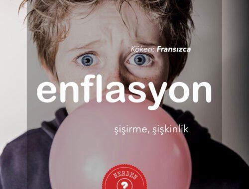 """""""Enflasyon"""" Nerden Geliyo"""